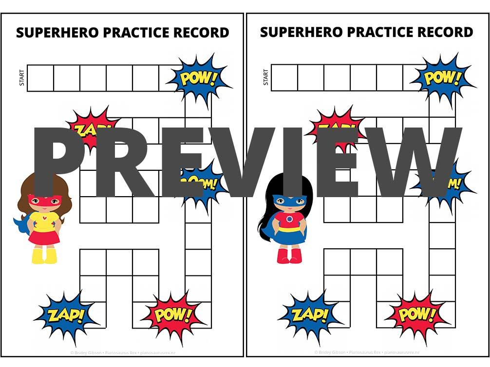 Musical Superhero Preview 2