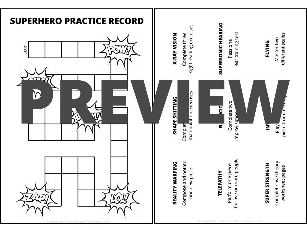 Musical Superhero Preview 6