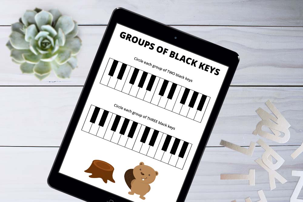 Use Worksheets on an iPad in Music Lessons