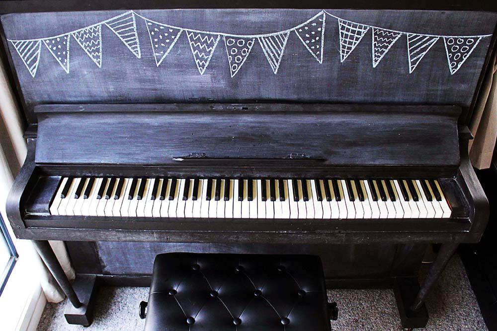 Chalkboard Piano