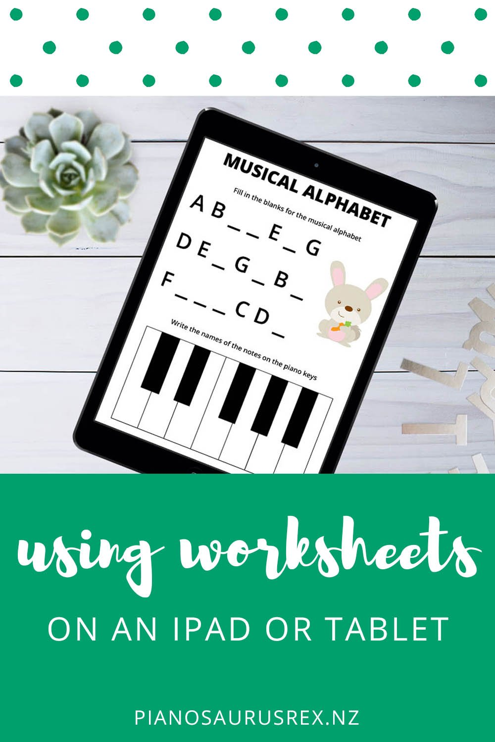 Use Worksheets On An IPad Or Tablet