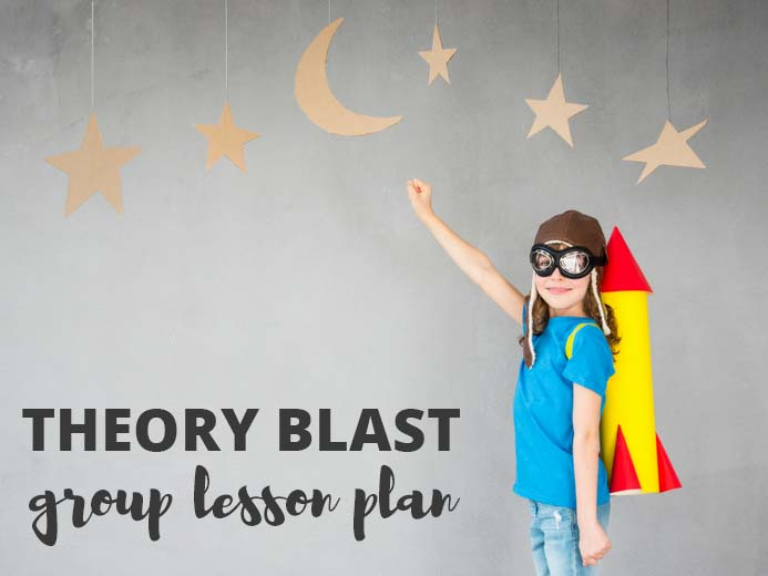 Theory Blast Group Lesson Plan