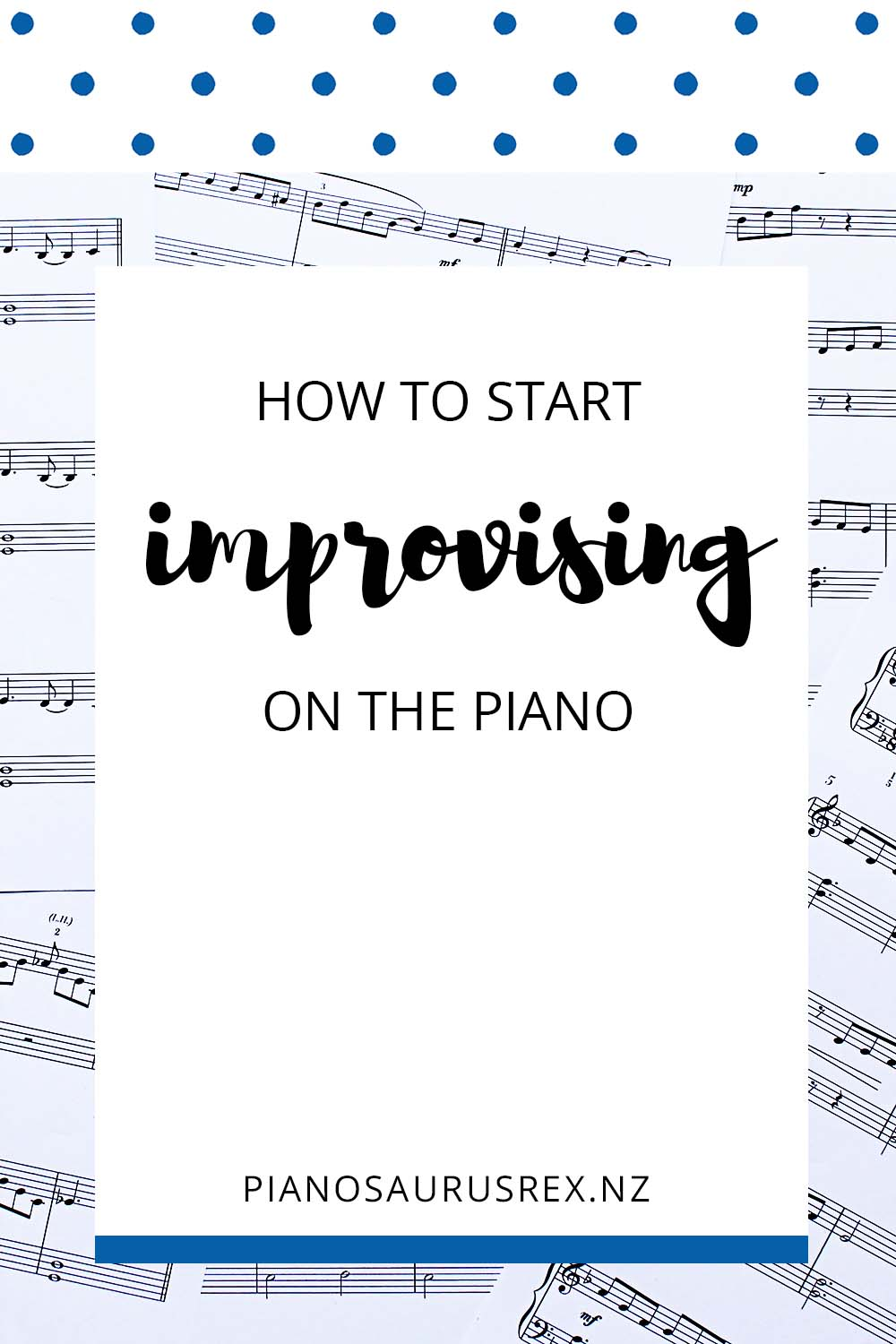 How To Start Improvising On The Piano
