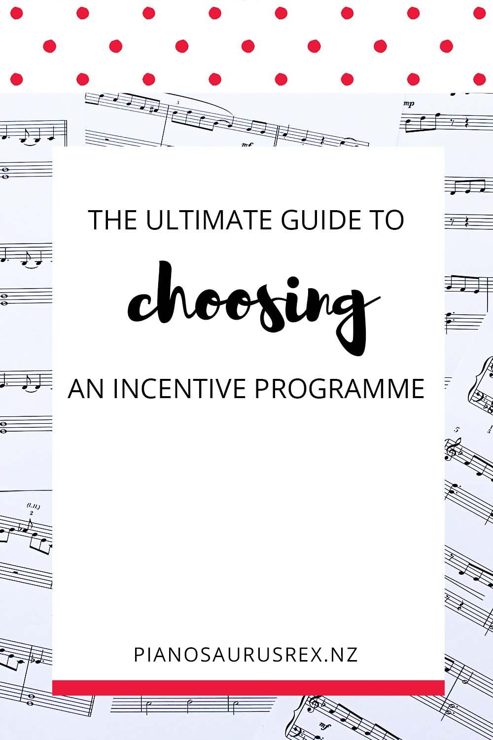 Choosing An Incentive Programme