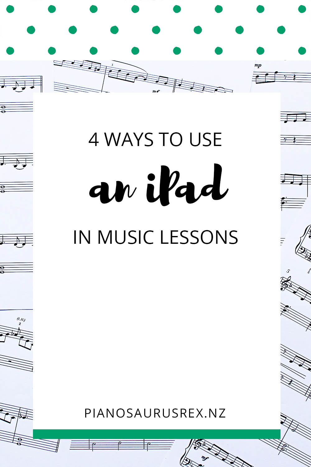 4 Ways To Use An IPad In Music Lessons