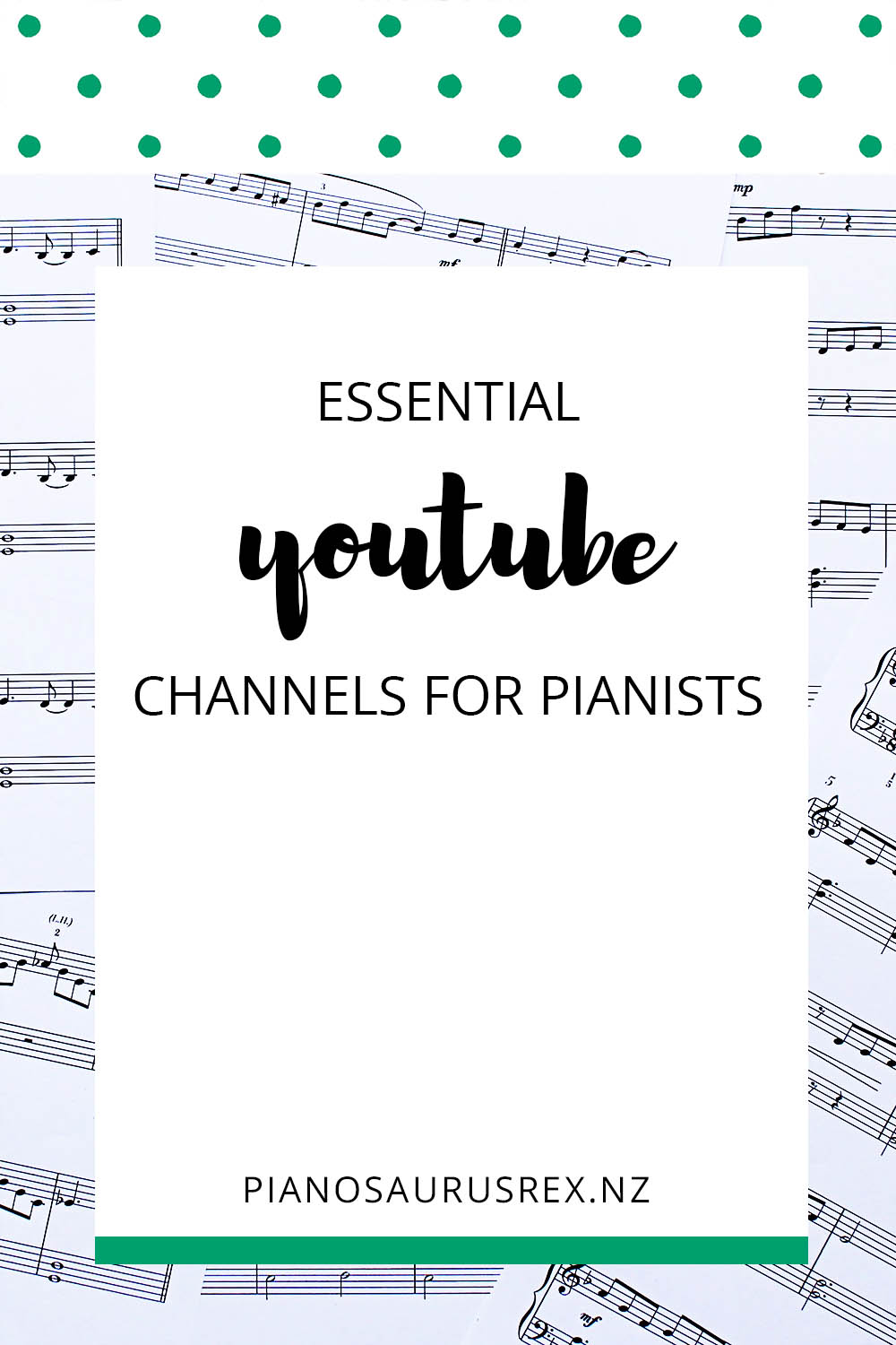 Essential YouTube Channels For Pianists