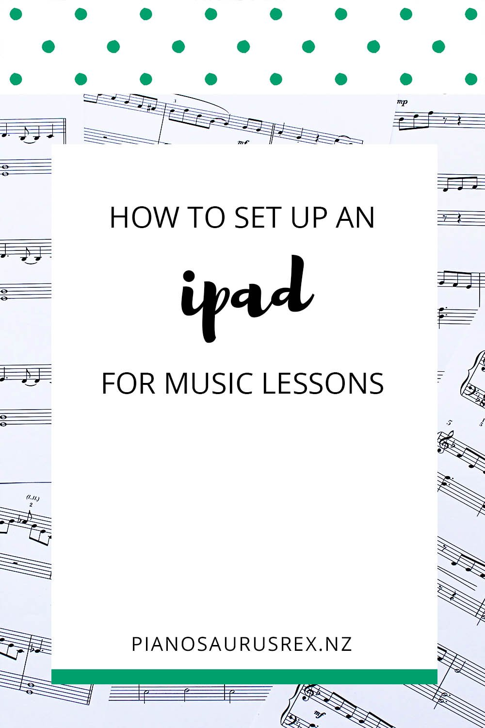 How To Set Up An IPad For Music Lessons