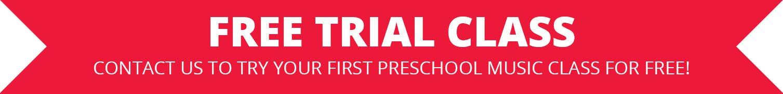 Free Trial Preschool Music Class